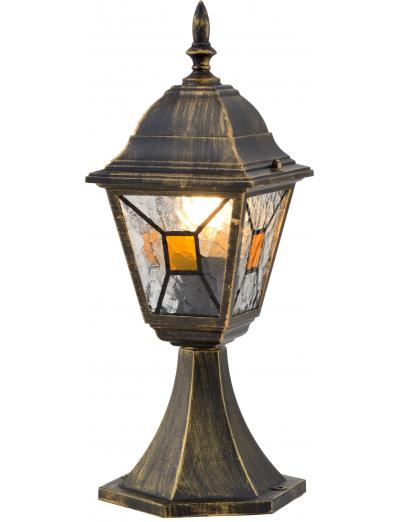 Belight Градинска лампа стояща 1хE27 Златна патина IP44 34014-11-42