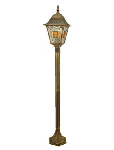 Belight Градинска лампа стояща 1xЕ27 max 60W, 1м., златна патина 34006-11-42