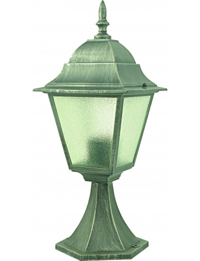 Belight Градинска лампа стояща 1xЕ27 max 60W, сребърна патина 34004-01-54