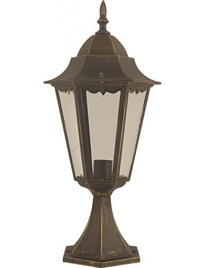 Belight Градинска лампа стояща h 50 см, Е27 max100W, златна патина 36004-01-42