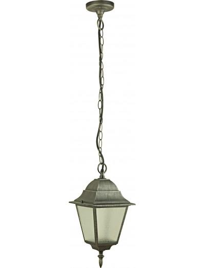 Belight Градинска лампа висяща 1xЕ27 max 60W, сребърна патина 34005-01-54