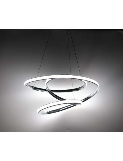 Belight Пендел 39W Интегриран LED 2730lm Хром 3106-01-11