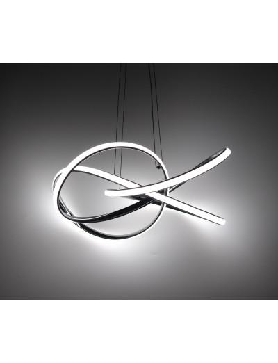 Belight Пендел 45W Интегриран LED 3060lm Хром 3105-01-11