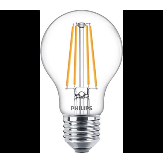 LED classic 75W E27 WW A60 CL ND RFSRT4 - LED лампи с класическа форма