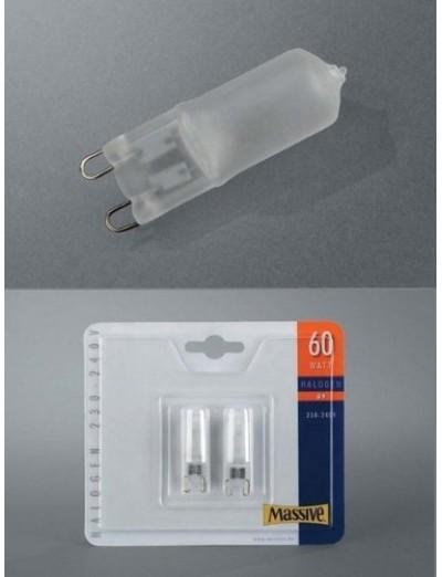 Massive Крушка G9 60W халогенна 2 бр bulbs 283626067