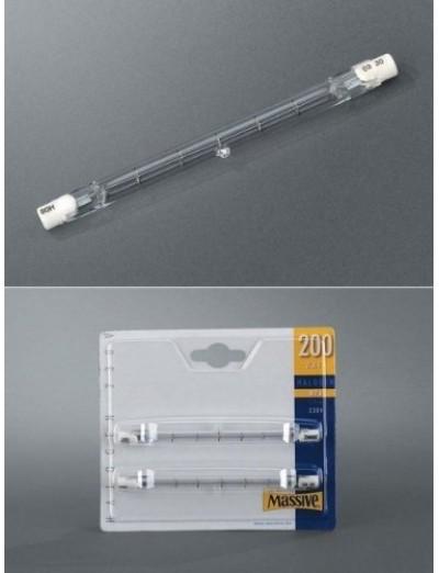 Massive Крушка R7s 200W халогенна 2 бр bulbs 223109200