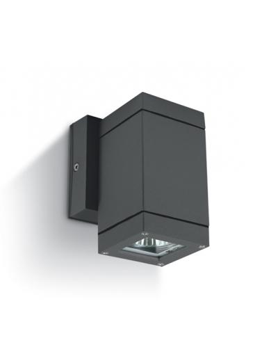 One light Аплик GU10 35W IP54 квадрат антрацит 67130F/AN