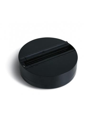 One light База за Track Спот кръгла черна 41030/B