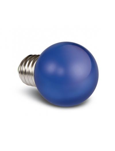 One light LED лампа синя 0.5w E27 230V 9G01/BL/E