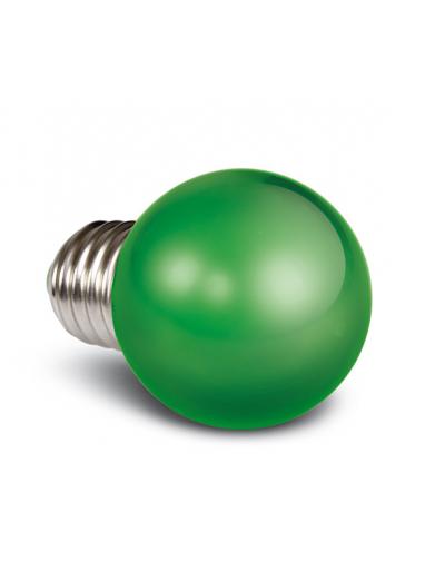 One light LED лампа зелена 0.5w E27 230V 9G01/GR/E