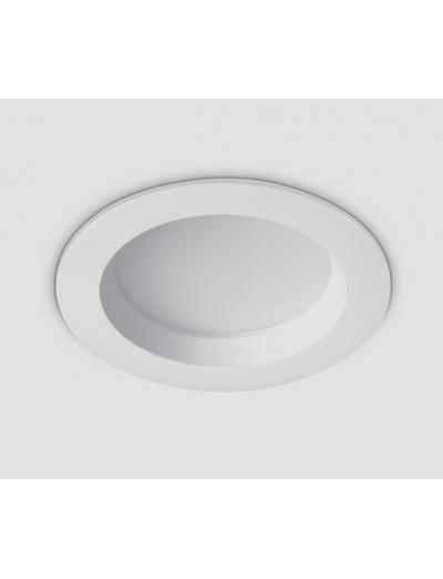One light LED луна за вграждане кръглаLED 13W WW бяла с драйвер IP 54 10113B/W/W