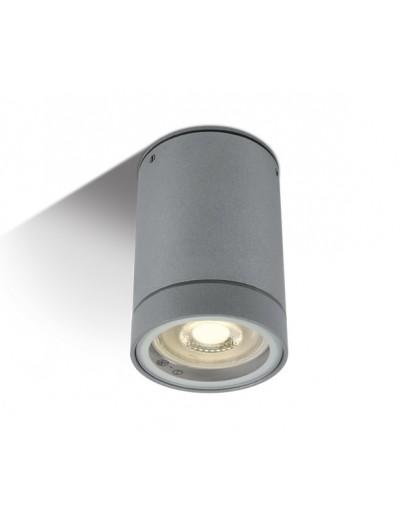 One light Луна за монтаж на открито сива метал GU10 35W - не e вкл. 230V IP54 67130C/G