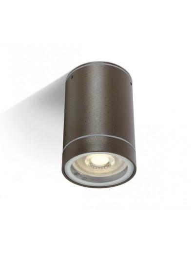 One light Луна за външен монтаж на открито кафяво GU10 35w IP54 67130C/BR