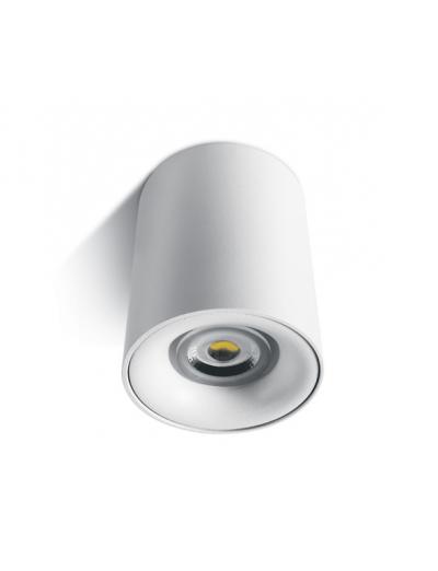 One light Луна за външен монтаж цилиндър бяла GU10 12105D/W