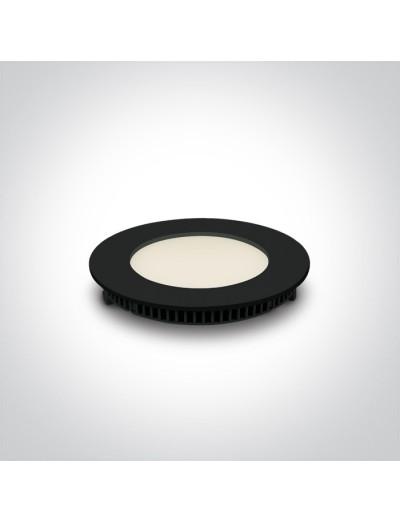 One light Луна за вграждане фиксирана Кръгла IP40 10108FA/B/W