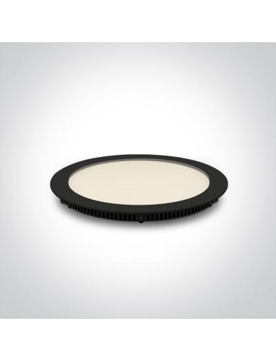 One light Луна за вграждане фиксирана Кръгла IP40 10118FA/B/W