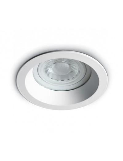 One light Луна за вграждане фиксирана Кръгла бяла GU 10 50W IP65 10105R2/W