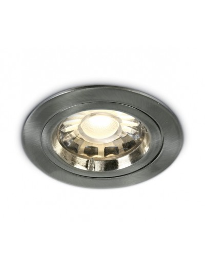One light Луна за вграждане инокс метал кръгла MR16 GU5.3 50W 12V IP20 10105/MC