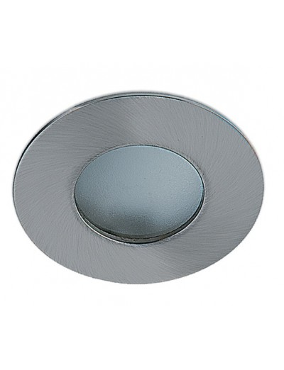 One light Луна за вграждане - за баня инокс метал кръгла MR16 GU5.3 50W - 12V IP44 10105R/MC