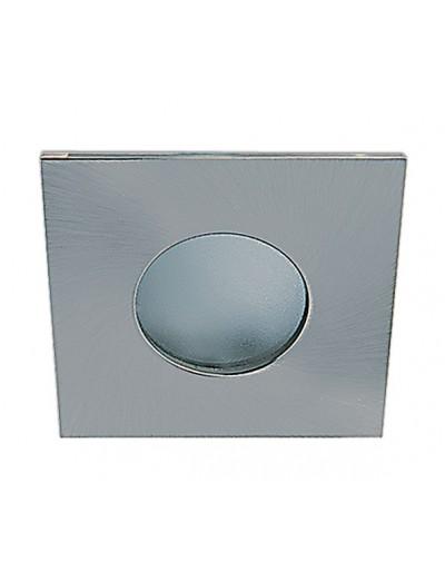 One light Луна за вграждане - за баня инокс метал квадрат MR16 GU5.3 50W -  12V IP44 50105R/MC