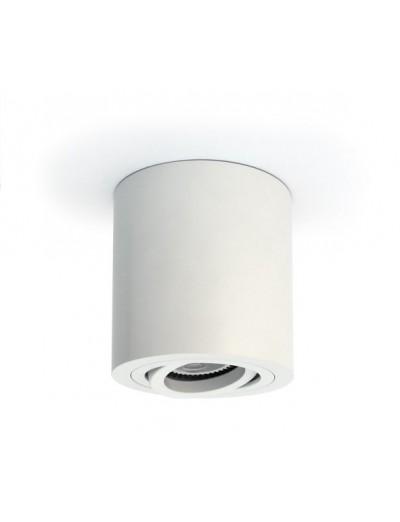 One light Спот бял алуминий GU10 50W 230V IP20 с насочване 12105AB/W