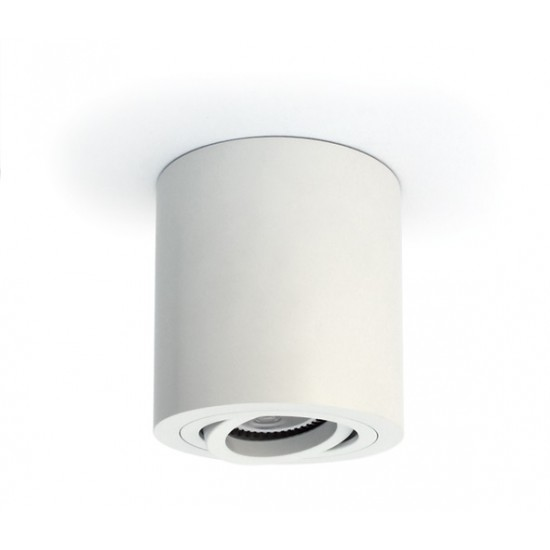 One light Спот бял алуминий GU10 50W 230V IP20 с насочване 12105AB/W - Спотове