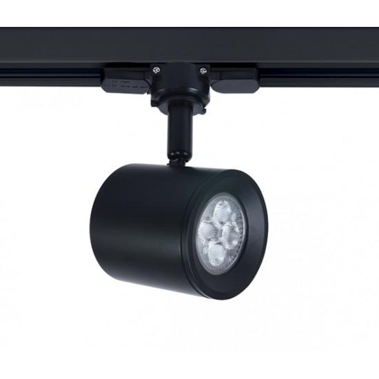 One light Спот за релса черен 35W GU10 65520T/B - Прожектори на шина
