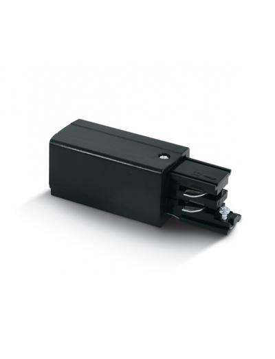 One light Захранване за шина - ляво черно 41004A/B/L