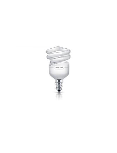 Philips Енергоспестяваща компактна лум. лампа Tornado 8 W E14 топла светлина