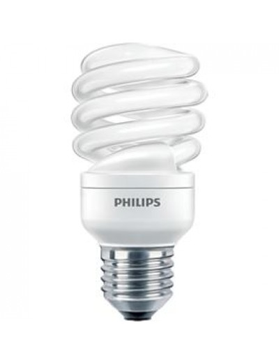 Philips Енергоспестяваща компактна лум. лампа Twister 15 W E27 топла светлина