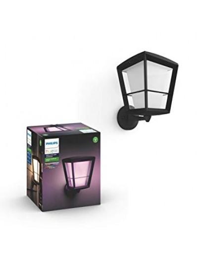 Philips, Градинска лампа, WiFi, LED, 1150Lm, 15 W, Hue Econic, IP44, Черен, 1743930P7