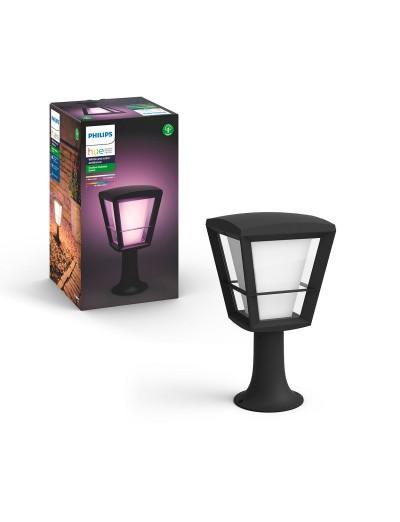 Philips, Градинска лампа, WiFi, LED, 1150Lm, 15 W, Hue Econic, IP44, Черен, 1744130P7
