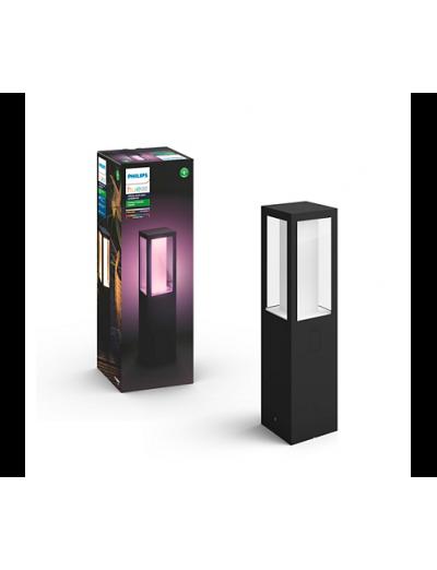 Philips, Градинска лампа, WiFi, LED, 1200Lm, 8 W, Hue Impress, IP44, Черен, 1743130P7