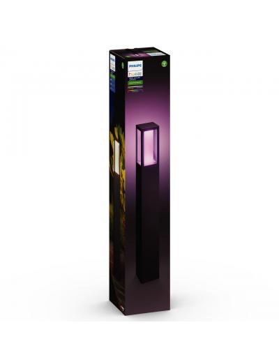 Philips, Градинска лампа, WiFi, LED, 1200Lm, 8 W, Hue Impress, IP44, Черен, 1743230P7