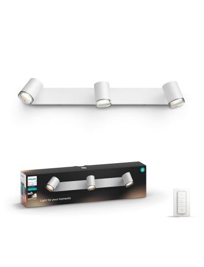Philips HUE Adore Led спот за баня IP44 3xGU10 5.5W плюс димер ключ 3436131P7