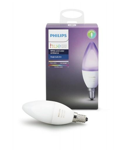 Philips HUE Hue LED лампа 6W B39 E14 RGB 871869669516600