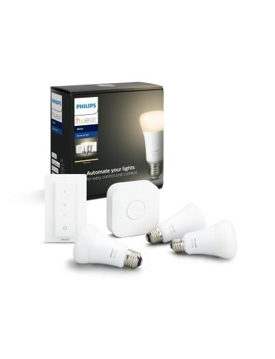 Philips HUE К-кт 3 бр. LED лампи White 871869678523200