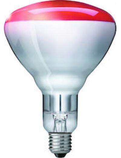 Philips Инфрачервена лампа  150 W E27 червена