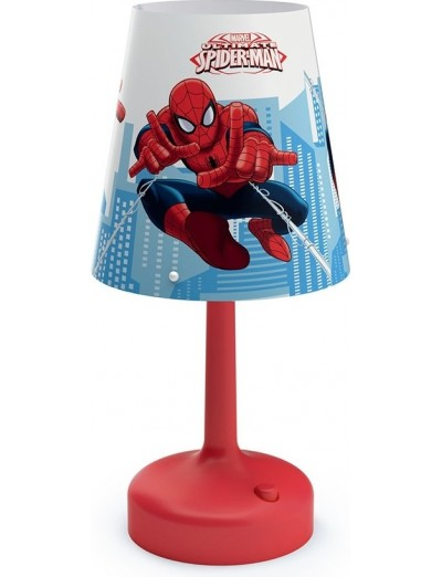 Philips LED Настолна лампа - Disney Spider-Man 71796.40.P0