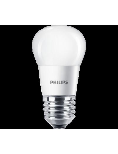 Philips LED лампа 4-25W P45 Е27, топла светлина 871869977175100