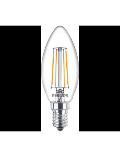Philips LED лампа 4.3-40W B35  E14 неутрална светлина, 871869964825100