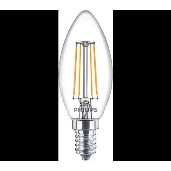 Philips LED лампа 4.3-40W B35  E14 неутрална светлина, 871869964825100 - LED лампи с класическа форма