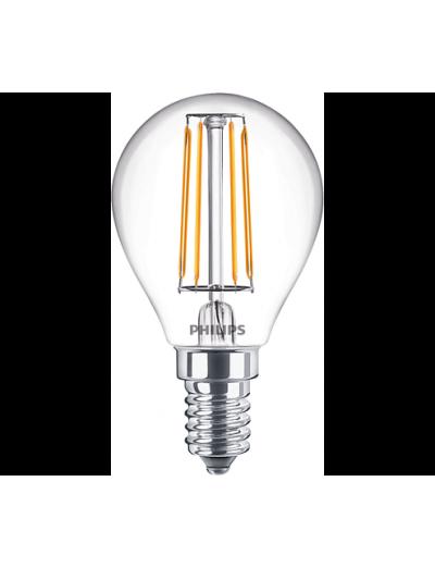 Philips LED лампа 4.3-40W P45 E14 неутрална светлина 871869964827500