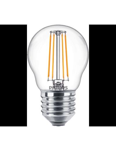 Philips LED лампа 4.3-40W P45 E27 топла светлина 871869976317600
