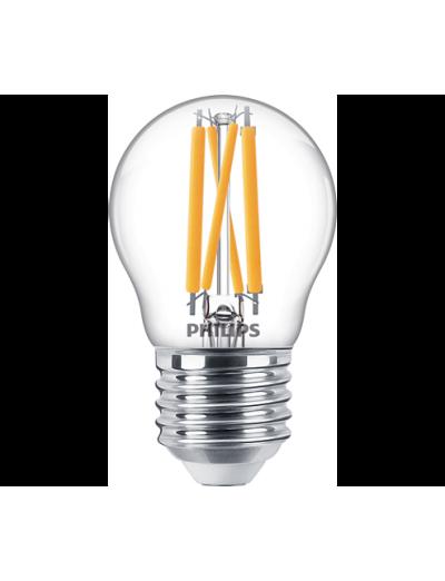 Philips LED лампа 4.3-40W P45 E27 топла светлина димируема 871869977072300