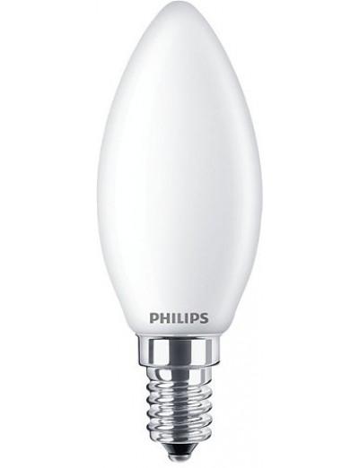 Philips LED лампа 4.5-40W B35 E14 топла светлина, димируема 871869978015900