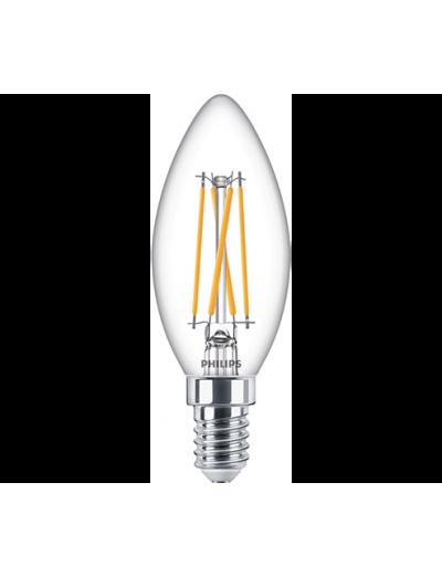 Philips LED лампа 4.5-40W B35 E14 топла светлина димируема 871869978019700