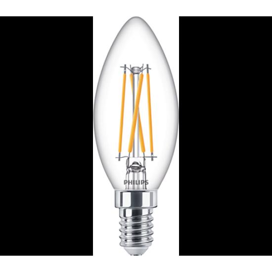 Philips LED лампа 4.5-40W B35 E14 топла светлина димируема 871869978019700 - LED лампи с класическа форма