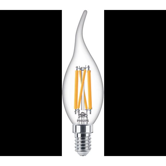 Philips LED лампа 4.5-40W BA35 E14 топла светлина димируема 871869977060000 - LED лампи с класическа форма