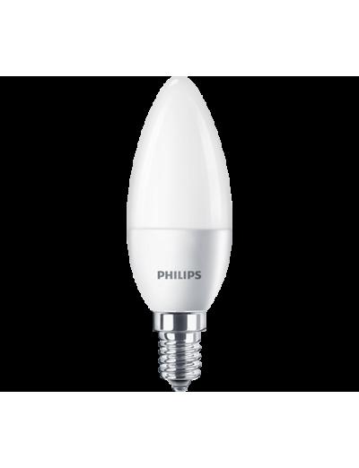 Philips LED лампа 5.5-40W B35 E14 неутрална светлина, 871869977267302